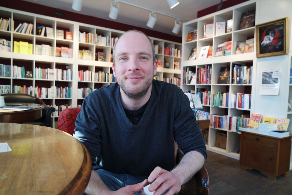 Matthias Dölger hat das Bukafski in der Mainzer Neustadt gegründet