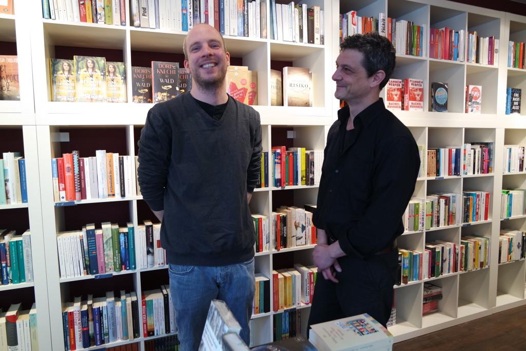 Ein eingespieltes Team: Matthias Dölger und Marco Rocco Roberto vom Bukafski