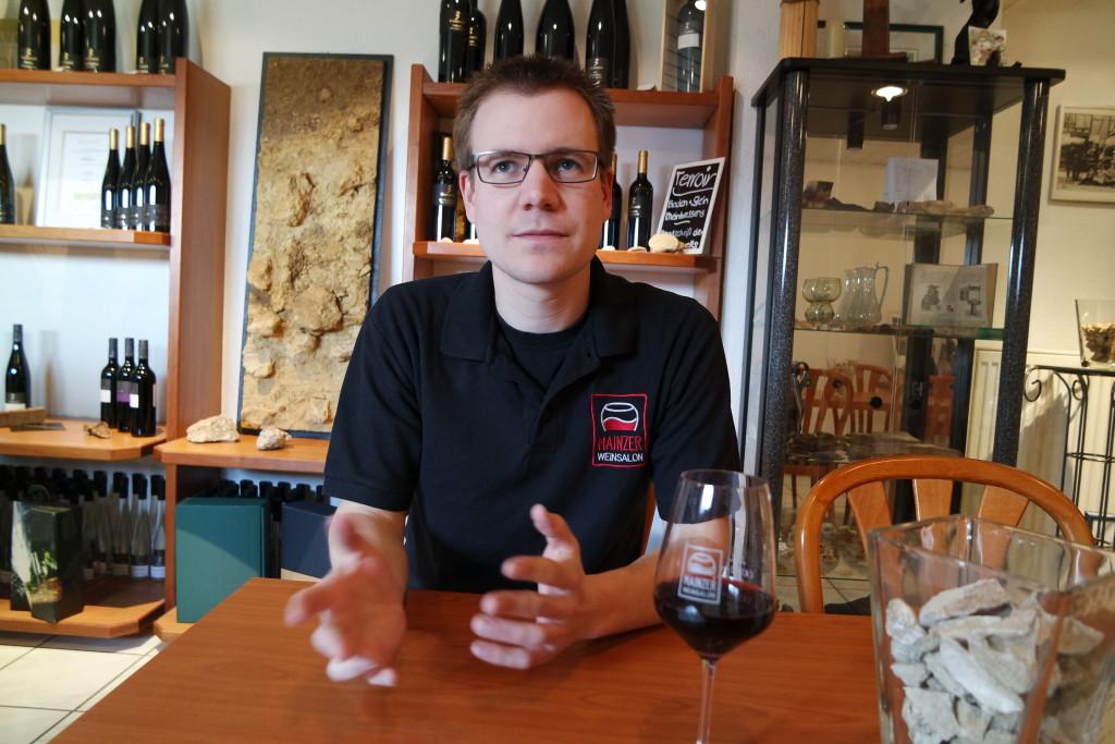 Christian ist Rheinhessen und Winzer aus Leidenschaft - und hat ein Faible für Mainz