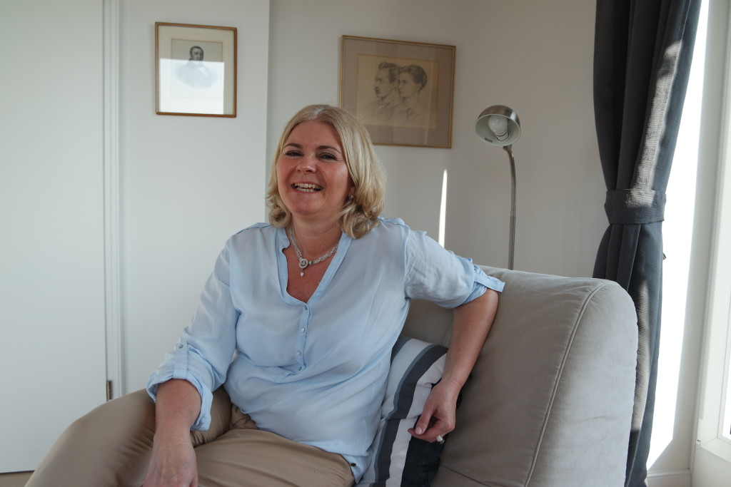 Britta Diemer liebt den Turm von Fort Stahlberg - und seine Geschichte