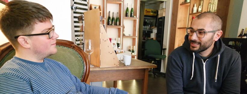 Michael Reinfrank und Sedat Aktaks: Die Macher der Weinraumwohnung und von Geile Weine!