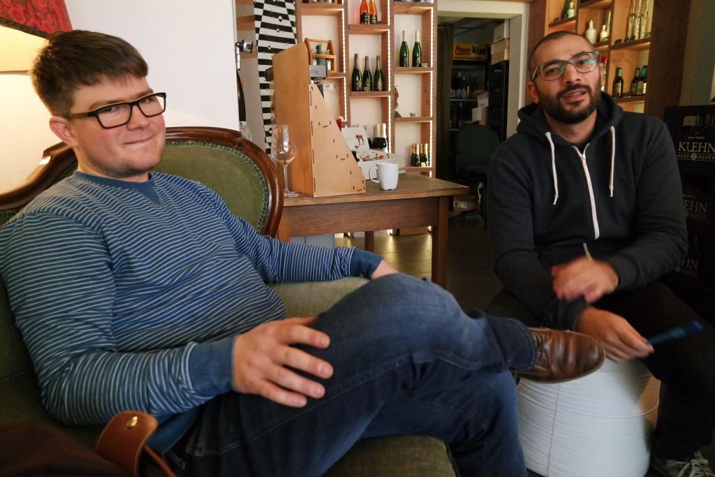 Ein Bombenteam: Michael und Sedat.
