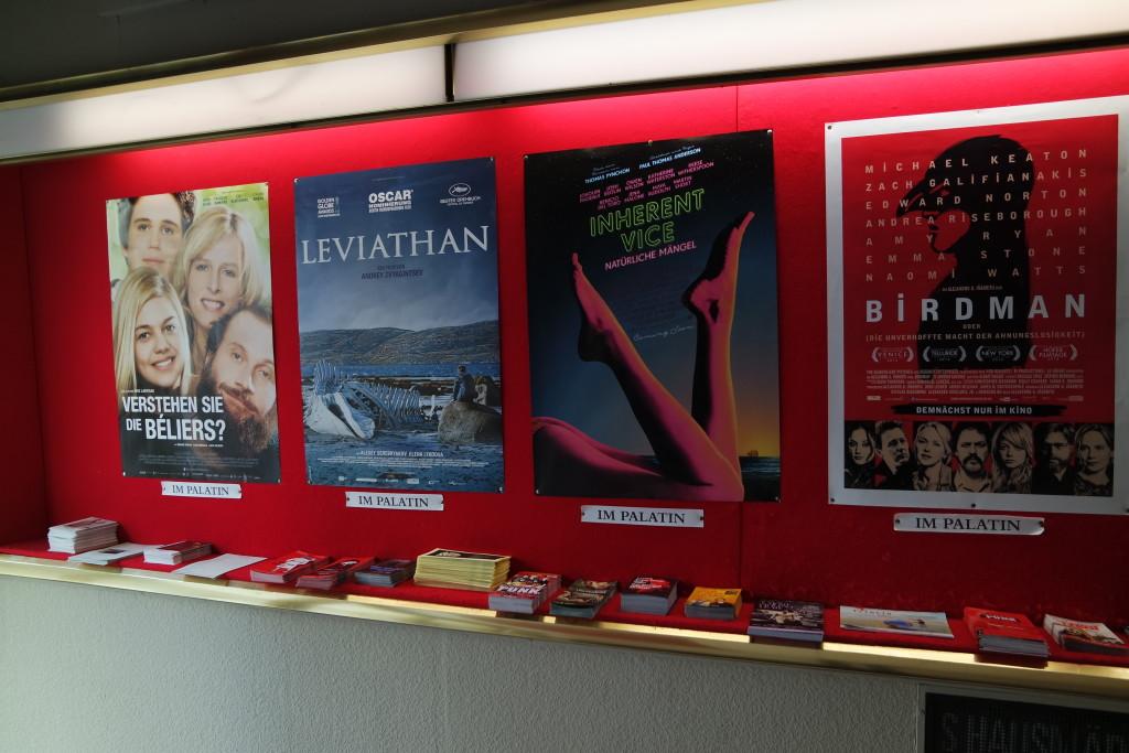 Keine Mainstream-Kinos - sondern anspruchsvolles Programmkino findet im Capitol und Palatin statt.