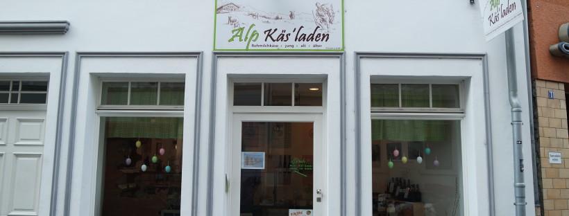 Der Alpkäsladen - ein Hingucker in der Mainzer Altstadt