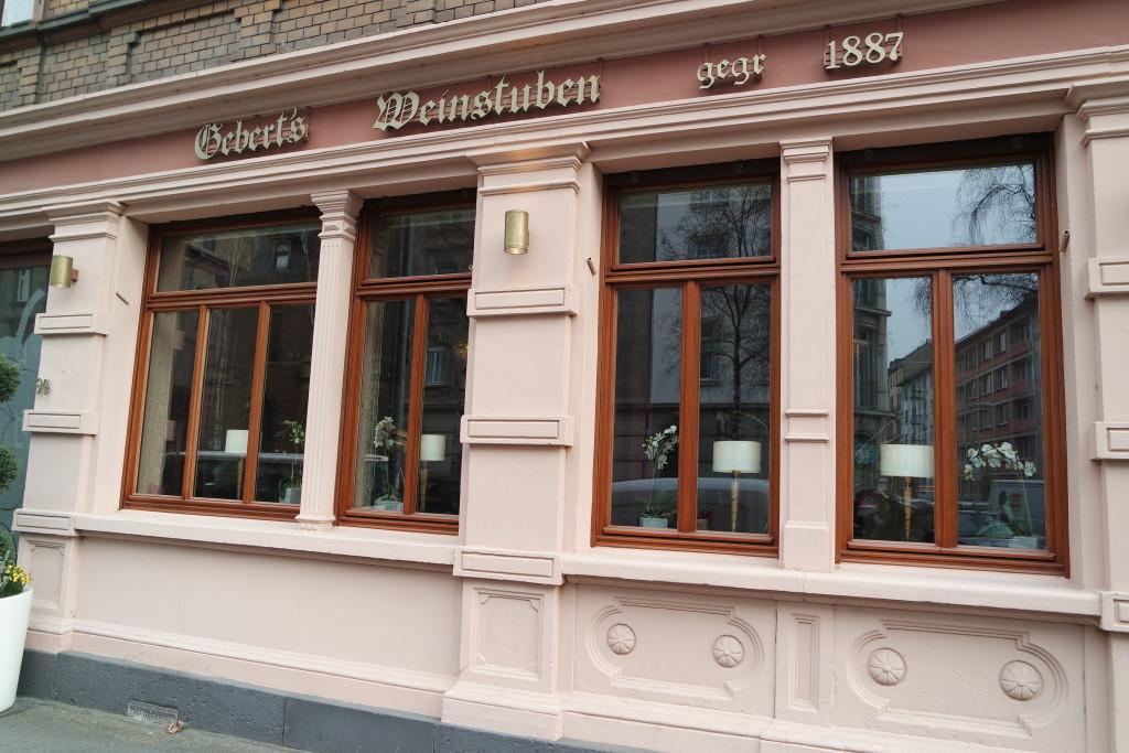 Das Restaurant mit Tradition und Klasse befindet sich in der Frauenlobstraße in Mainz