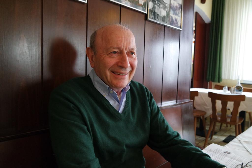 Bruno Bellini nimmt sich Zeit für seine Gäste und lebt das Como Lario bis heute.