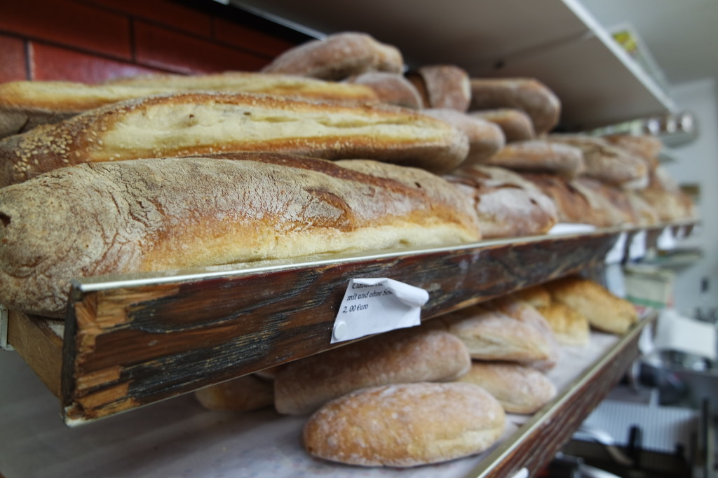 Das leckere italienische Brot ist ein absoluter Geheim-Tipp.