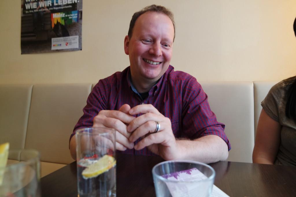 Andreas mag es, im Beruf und im Ehrenamt viel mit Menschen zu tun zu haben.