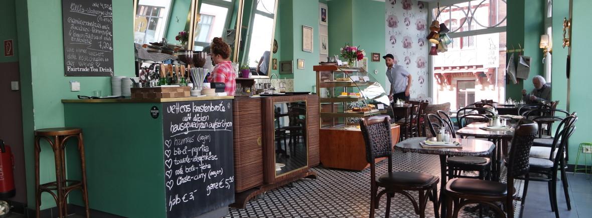 """Einzigartig gemütlich, das Café """"dicke lilli, gutes Kind"""", in der Mainzer Altstadt"""