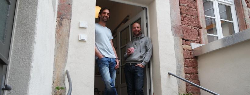 Markus Wehrle und Kai Tietze sind die Macher vom Kaffeehaus Lönneberga