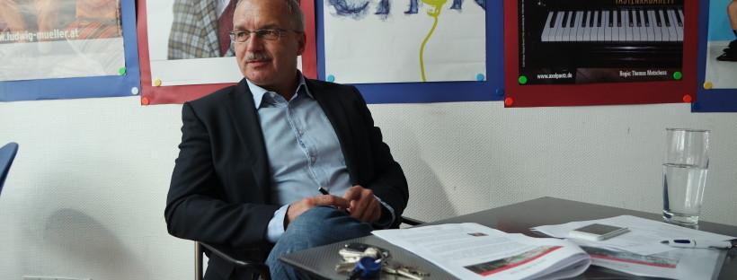 Ewald Dietrich leitet seit 2003 die Geschicke des Mainzer Unterhauses.