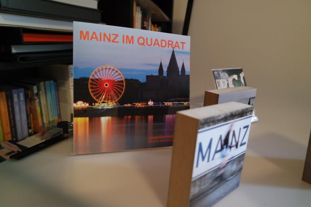 """Die Serie """"Mainz im Quadrat"""" besteht aus mittlerweile 53 Bildern."""
