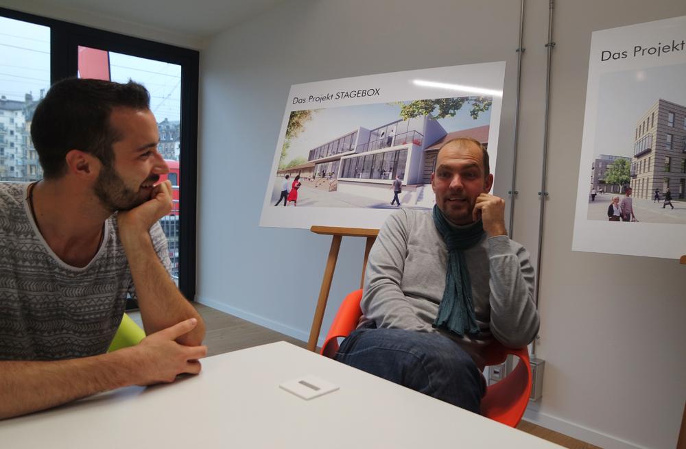 Florian Hupf und Thomas Hahner im Gespräch mit Best of Mainz.