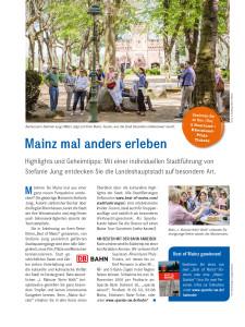 Mainz mal anders erleben - Best of Mainz-Stadtführungen