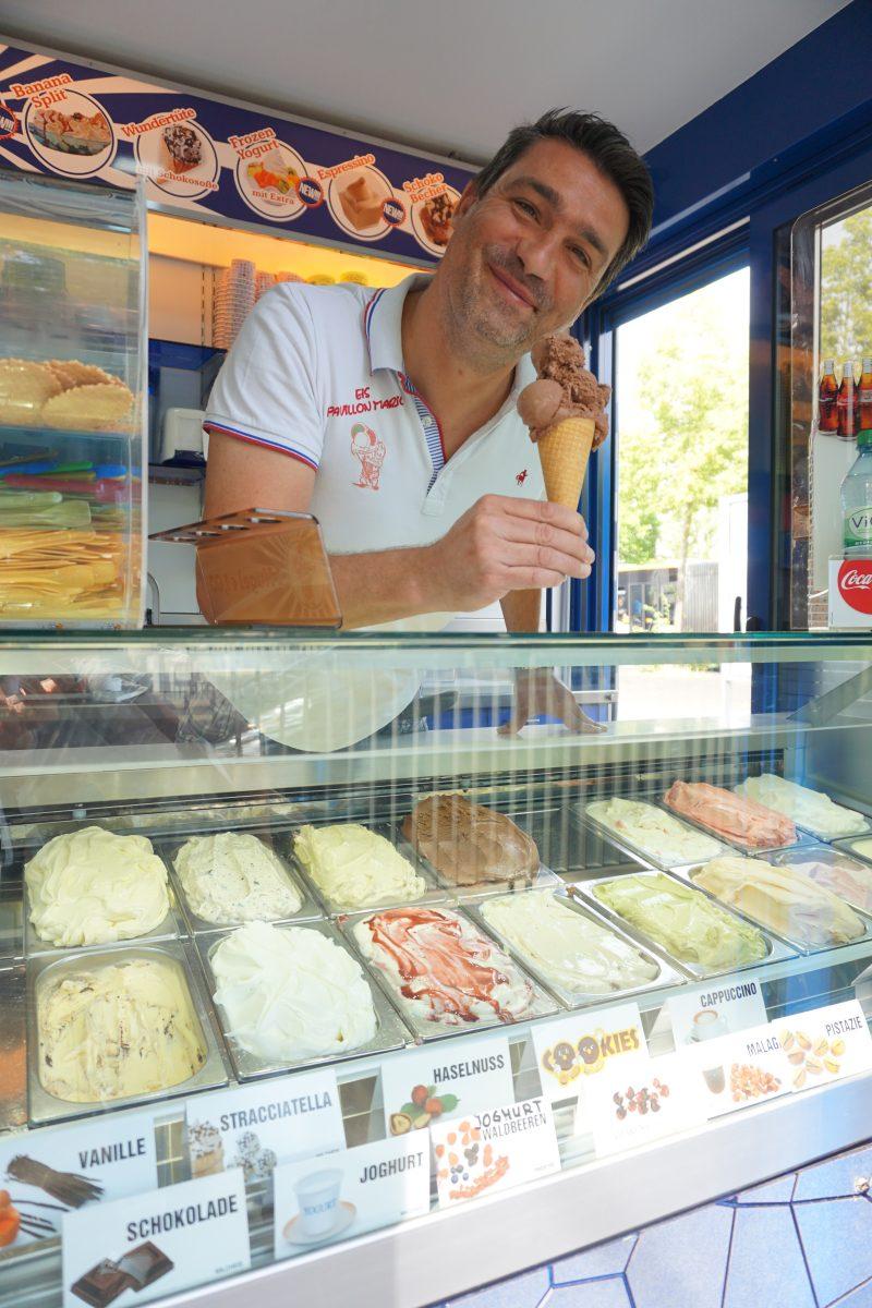 Eispavillon Mario Glücksort in Mainz