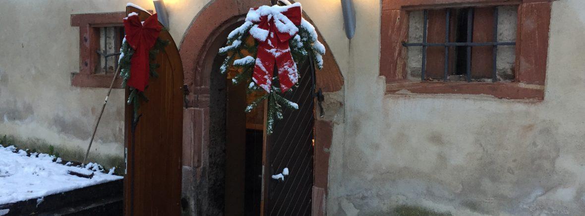 Weihnachtsmarkt auf der Zitadelle: Kunst und Korinthen